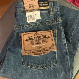 New Route 66Boys Jeans Regular Straight leg 14 NWT